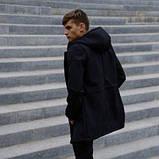 Костюм чоловічий чорний демісезонний Куртка і штани утеплені Ключниця в подарунок SKL59-283339, фото 2
