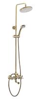 Душевой набор со смесителем MIXXUS PREMIUM RETRO BRONZE-009-J душевой гарнитур с тропическим душем Германия