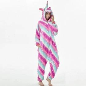 Пижама кигуруми Единорог Млечный Путь S SKL32-290145