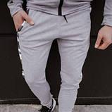 Костюм мужской спортивный серый камуфляж Кофта толстовка штаны SKL59-290686, фото 5