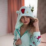 Жіноча піжама комбінезон із застібкою ззаду Popojama розмір XL бірюзового кольору SKL70-294602, фото 3