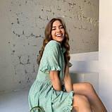 Платье свободного кроя фисташка SKL11-294619, фото 8