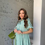 Сукня вільного крою фісташка SKL11-294619, фото 10