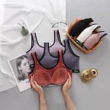 Комплект жіночої білизни топ і трусики бузковий SKL11-292581, фото 3