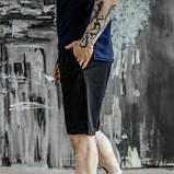 Чоловічий спортивний костюм літній червоно-чорний футболка поло і шорти трикотажні SKL59-292679, фото 9