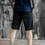 Чоловічий спортивний костюм літній червоно-чорний футболка поло і шорти трикотажні SKL59-292679, фото 10