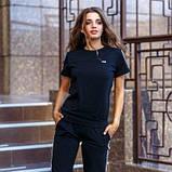 Женский спортивный костюм футболка и бриджи SKL11-292728, фото 6