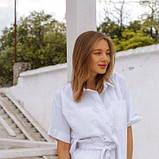 Жіночий костюм шорти і сорочка білий SKL11-292739, фото 3