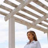 Жіночий костюм шорти і сорочка білий SKL11-292739, фото 5