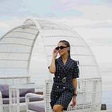 Платье-кардиган костюмка в клетку SKL11-292751, фото 6