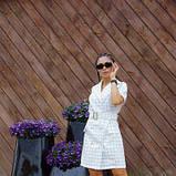 Платье-кардиган костюмка в клетку SKL11-292751, фото 9