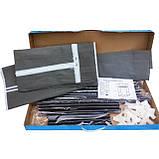 Шафа тканинний складаний 8863 60/45/150 (Сірий, кавовий, бордо), фото 6