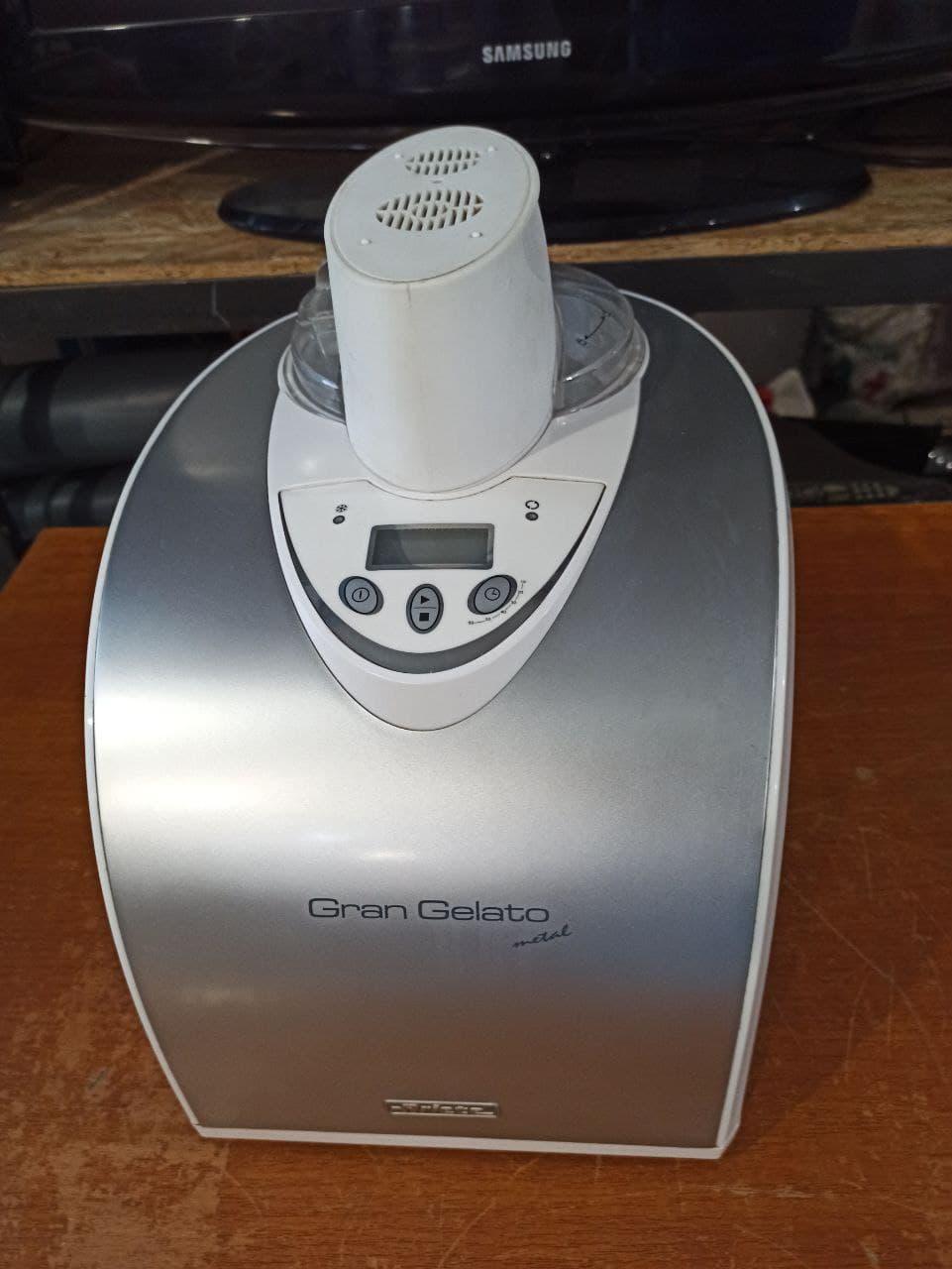 Мороженица Ariete Gran Gelato Metal 693