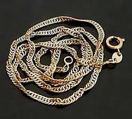 Ланцюжок крученная з медичного золота ХР, розмір 45см*2,5 мм