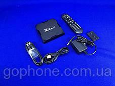 Смарт-приставка Android TV Box  X96 MAX+ 4GB + 32GB Android 9  WI FI 2,4/5,6 GHz, фото 2