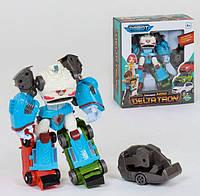 Игровой робот трансформер тобот 3 в 1 Боевой Робот Дельта Трон арт. 520