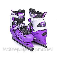 Ковзани розсувні Scale Sport Violet (розмір 38-41) - 797917285-L