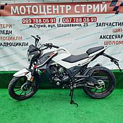 Мотоцикл Spark SP200R-28 (белый)