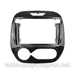 """Переходная рамка Lesko 9"""" для автомобиля RENAULT Captur 2008 RE 028N Auto AC Черный (6538-22663)"""