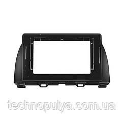 Переходная рамка Lesko для автомобиля Mazda CX-5 2015-2018 F-6568 Черный (6533-22652)