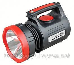 Ліхтар-прожектор WimpeX WX2980SYK акумуляторний 6000mAh 20W+22SMD LED FM/USB/TF (301042)