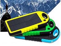 Power Bank 5000mAh Солнечное зарядное устройство, фото 1