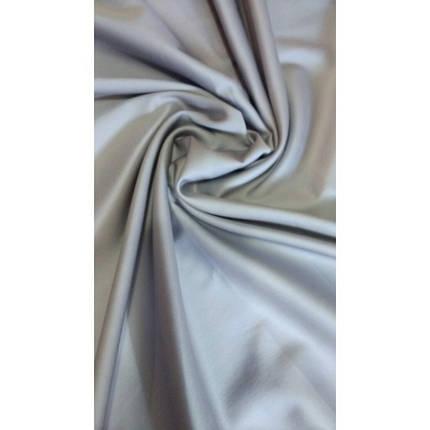 Пододеяльник из сатина Ярослав 145х215см (полуторный) серый, фото 2