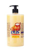 Рідке косметичне мило «Молоко и мед» (З дозатором) 1000 мл -Olis