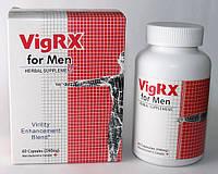 Увеличения пениса + повышение потенции, VigRX, 60 капсул, фото 1