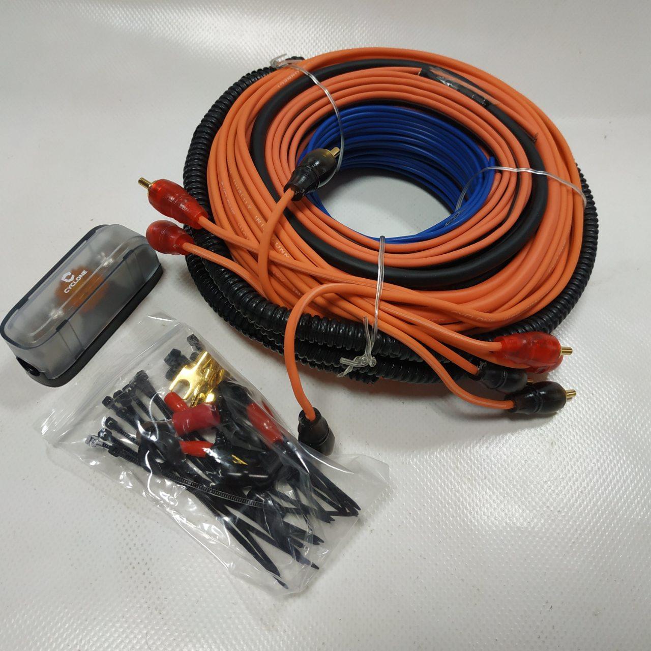 Набір для підключення 4-канального підсилювача CYCLONE AW-48 BASE