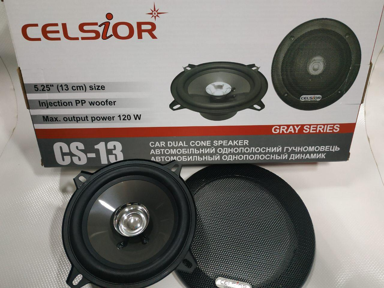 Колонки CELSIOR Gray CS-13 13см