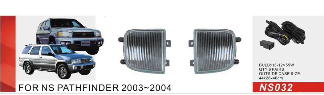 Фары доп.модель Nissan Pathfinder 2003-2004/NS-032/H3-55W/эл.проводка