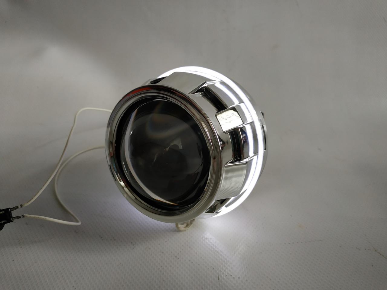 """Лінзи біксенон Cyclon BL-2.5""""H1 STANDART,S1 LED-маска"""