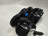 """Вентилятор 4"""" HX-T-303 MITCHELL 6.5W двойной 12V, фото 2"""