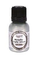 Жидкий краситель Rainbow Dust Metallic - Светло-серебрянный