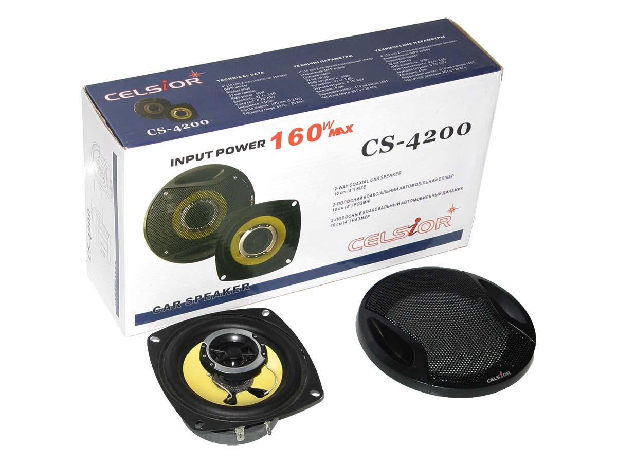 Колонки CELSIOR 4200 yellow 10см
