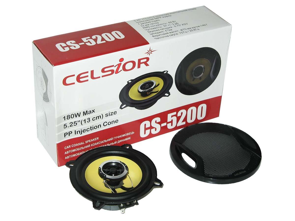 Колонки CELSIOR 5200 yellow 13см