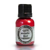 Жидкий краситель Rainbow Dust Metallic - Красный