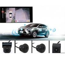 Система кругового огляду для автомобіля UKC CAR CAM 360 4 датчика