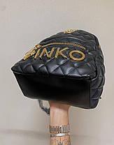 """Рюкзак Pinko Black """"Черный"""", фото 2"""
