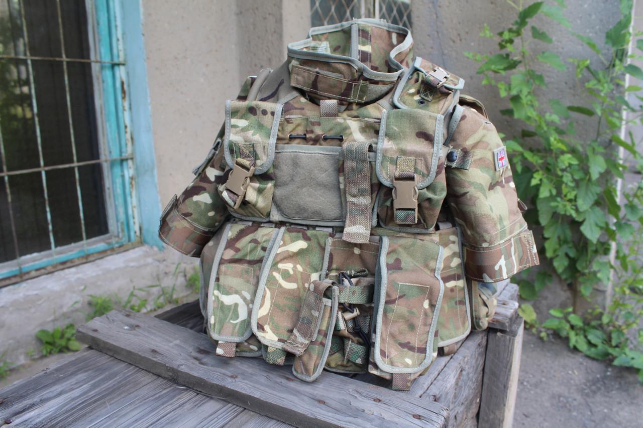 Чохол бронежилета-розвантаження 170/100 Osprey Mk 4A Body Armour оригінал ВС Великобританії - MTP - Лот 28