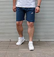 Мужские шорты Nike БАТАЛ синие, фото 1