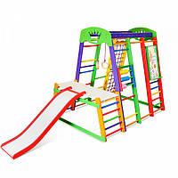 Детский спортивный комплекс для дома SportBaby «Акварелька Plus 1-3»