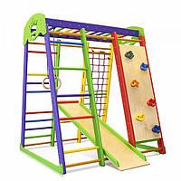 Детский спортивный комплекс для дома SportBaby Акварелька мини 1
