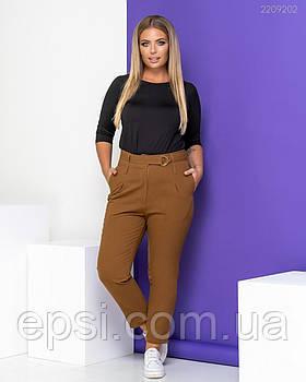 Женские брюки PEONY Брюки №2 54 Капучино (2209202-54:48)
