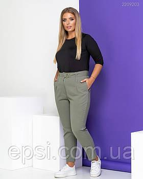 Женские брюки PEONY Брюки №2 52 Хаки (2209203-52:112)