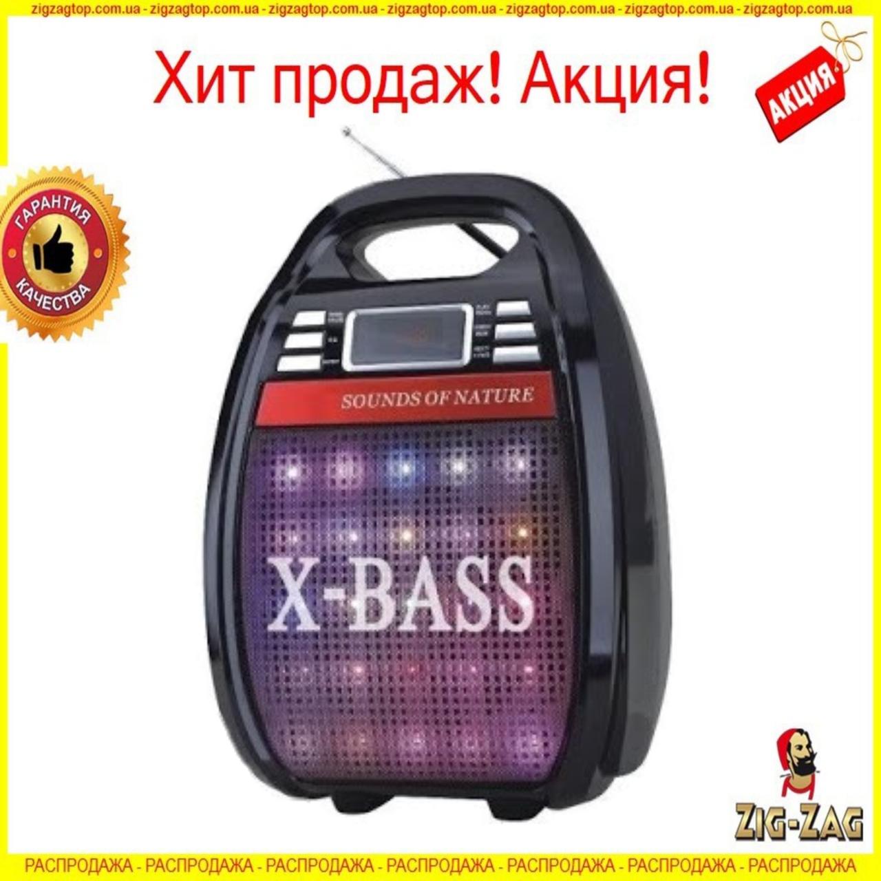 Колонка чемодан Golon RX810BT Bluetooth X-BASS со светомузыкой Блютуз с микрофоном, Акустическая колонка