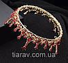 Корона круглая АЛЕКСА, модные украшения для волос, корона на голову, фото 6