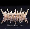 Корона круглая АЛЕКСА, модные украшения для волос, корона на голову, фото 5