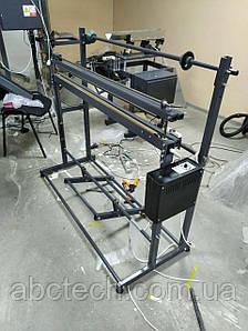 Зварювач пакетоделатель з рулонодержателем 500 мм Ножний імпульсний зварювач рулонів плівки Пайовик Шов 3 мм